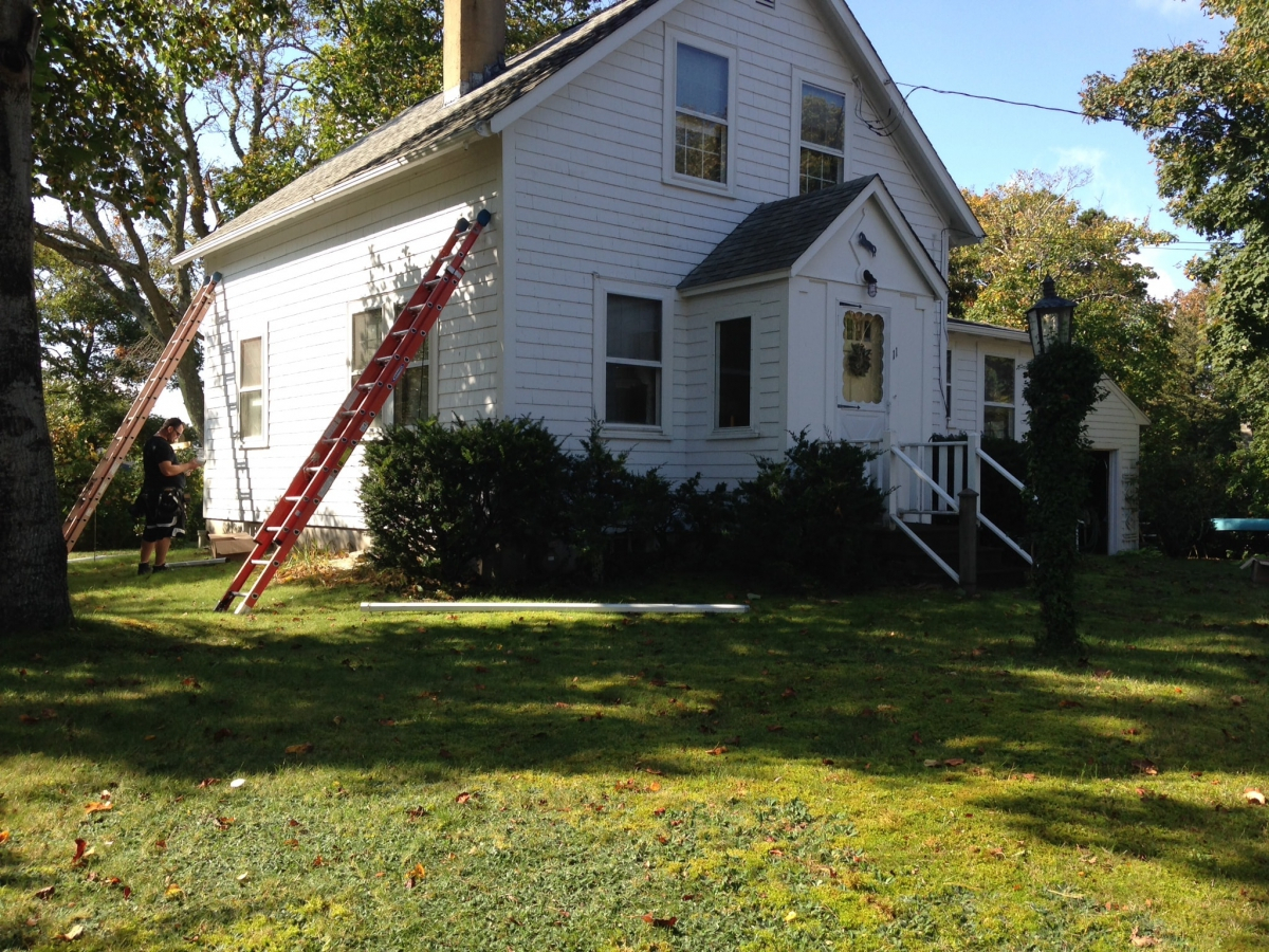 Seamless Gutter Installations Of All Types In Dennis Ma