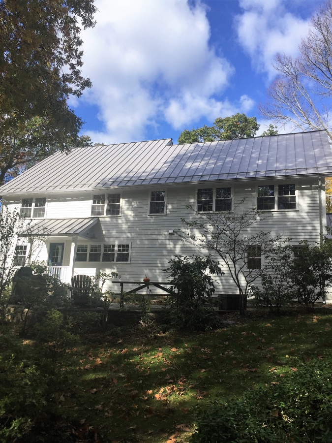 Mill Finish Aluminum Gutter In Hingham Ma By Gutter Pro