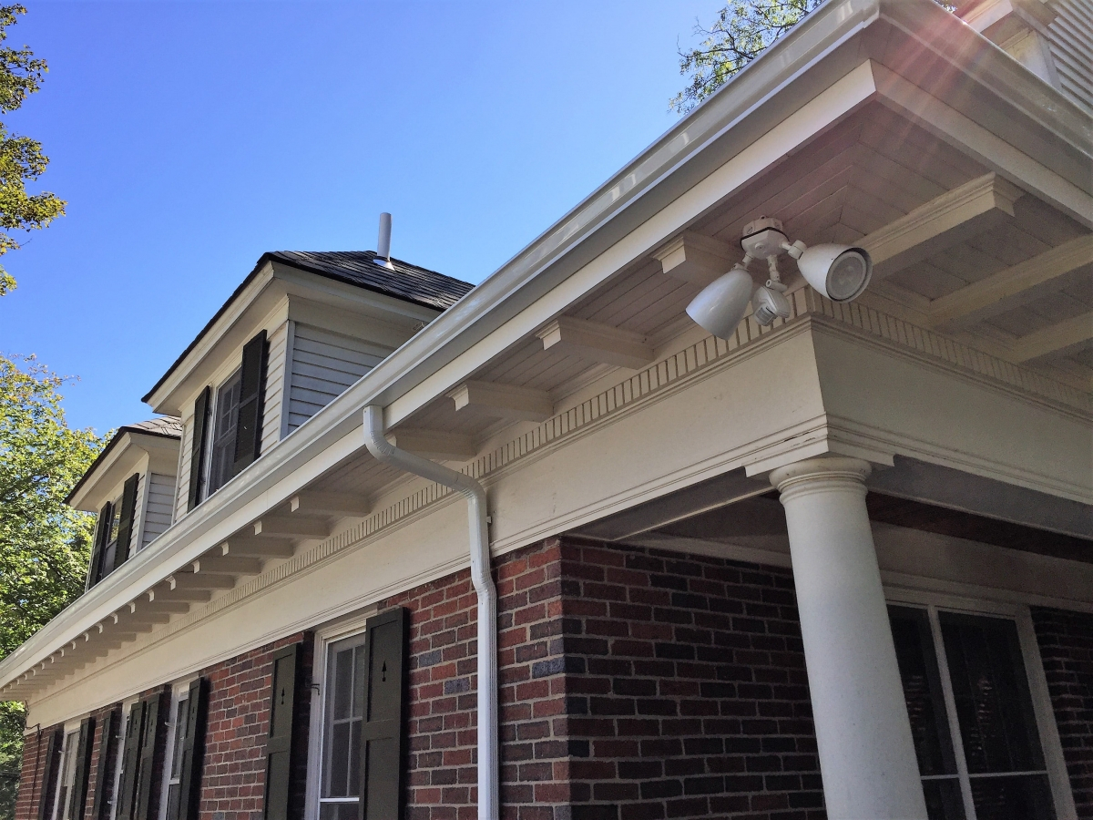 Trim Replacement and 5 Gutter Installation Newton