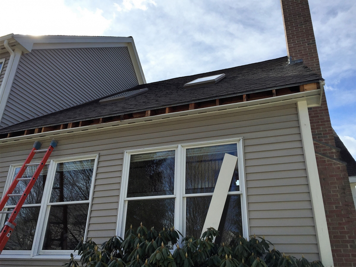 Trim Replacement And New Gutters In Norwood Gutterpro