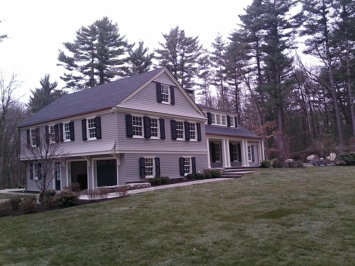 Seamless Copper Gutter Wayland MA