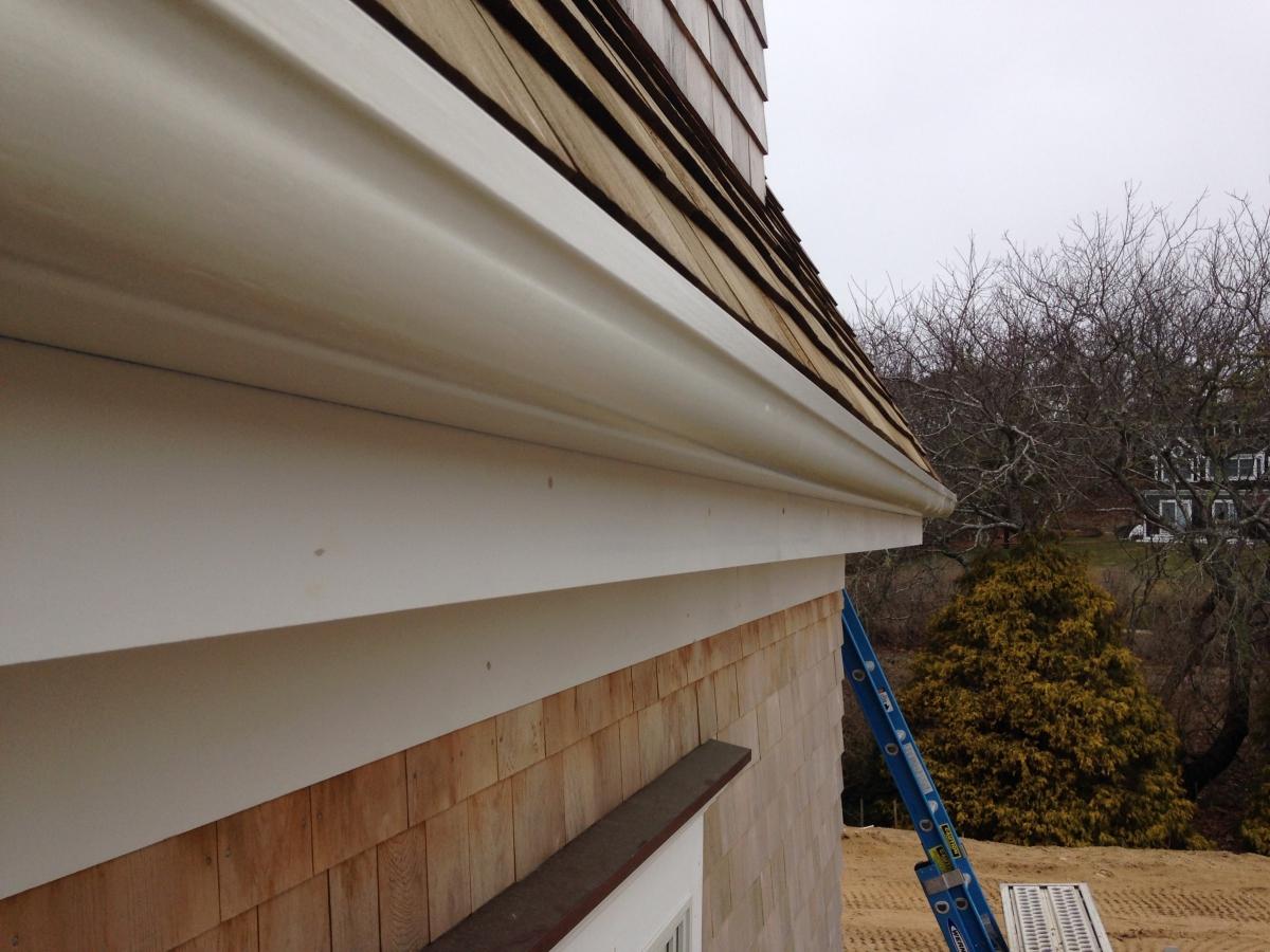 Fiberglass Gutter Installation Chatham