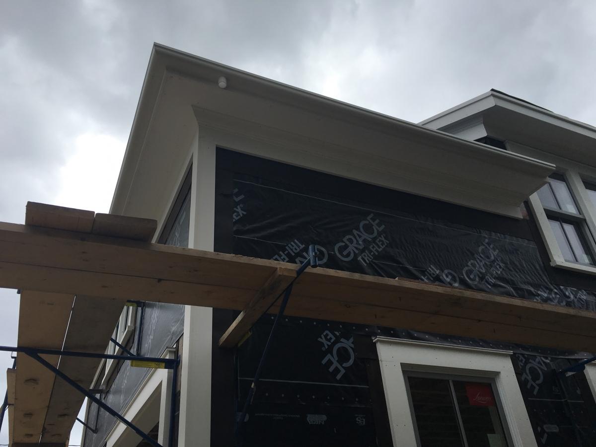 Fiberglass Gutter Installation Falmouth