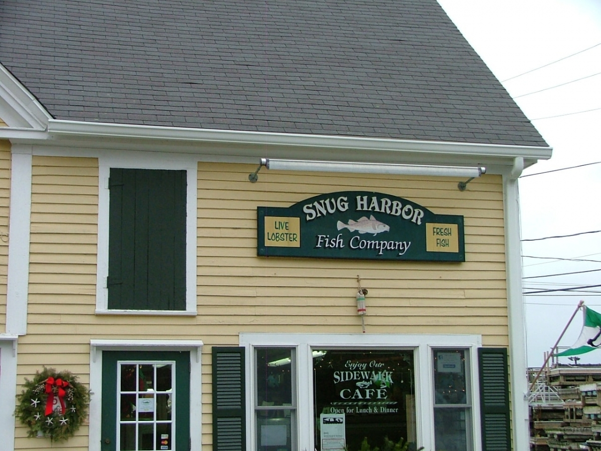 SnapLock Gutter Snug Harbor Fish Co Duxbury MA