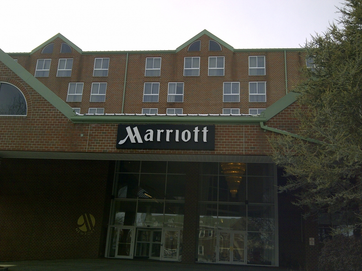 Seamless Commercial Gutter Newport Marriot