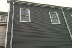 Wood Gutter Installation Nantucket