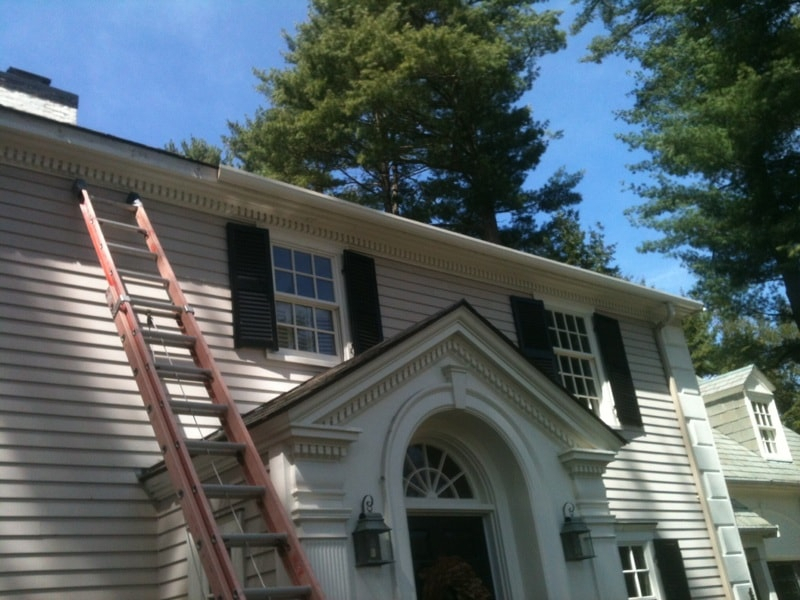 Wood Gutter Installation Newton